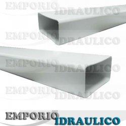 Tubo rettangolare pvc 120x60 cl1600 1 emporio for Tubo di rame vs pvc