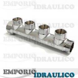Collettore lineare arteclima 3 4 rm1292 3 4 for Impianto idraulico pex vs rame